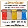 Сортировка мусора в офисе система ECOPOD Ирландия